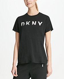 DKNY Sport Ombré-Logo T-Shirt, Created for Macy's