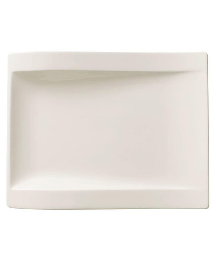 Villeroy & Boch - New Wave Large Rectangular Salad Plate