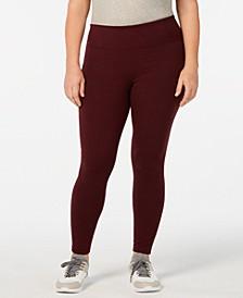 Plus Size Tummy-Control Leggings, Created for Macy's