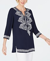 edc838cc66c womens embroidered tops - Shop for and Buy womens embroidered tops ...
