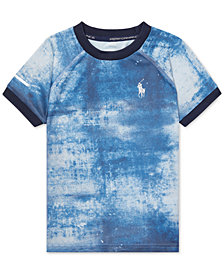 Polo Ralph Lauren Toddler Boys Faded Chambray T-Shirt