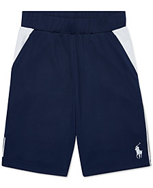 Polo Ralph Lauren Big Boys Colorblocked Performance Shorts