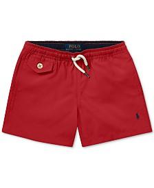 Polo Ralph Lauren Little Boys Traveler Twill Swim Trunks