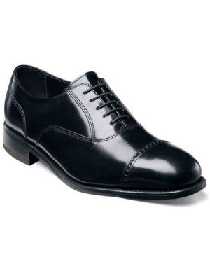 FLORSHEIM Men'S Lexington Wing-Tip Oxford Men'S Shoes in Black