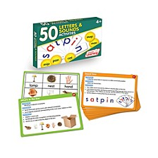 50 Letters and Sounds Activities Learning Set