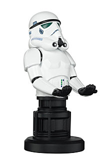 """Exquisite Gaming Cable Guy Controller and Phone Holder Star Wars Empires Elite Stormtrooper 8"""""""