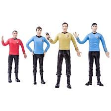 """NJ Croce Star Trek TOS Transporter Room 6"""" Action Figure Boxed Set"""