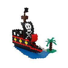 Plus Plus 1060 Piece Pirate Ship Building Set