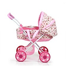 Hello Kitty Doll Pram for Baby Dolls