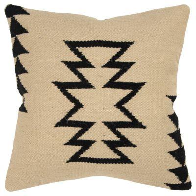 "18"" x 18"" Large Arrow motif with offset arrow stripes Pillow Cover"