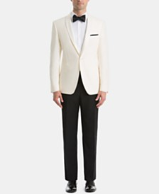 Lauren Ralph Lauren White Dinner Jacket Classic-Fit Tuxedo Suit Separates