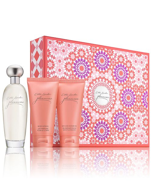Estee Lauder 3-Pc. Pleasures Gift Set