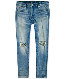 Superdry Men's Slim-Fit Ripped Jeans
