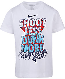 Nike Little Boys Dunk-Print Cotton T-Shirt