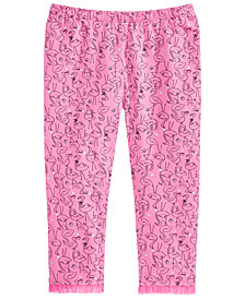 First Impressions Baby Girls Flamingo-Print Leggings, Created for Macy's