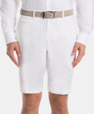 Men's Linen Classic-Fit Shorts