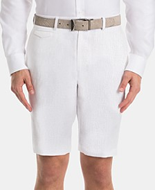 Men's Linen Classic-Fit Shorts