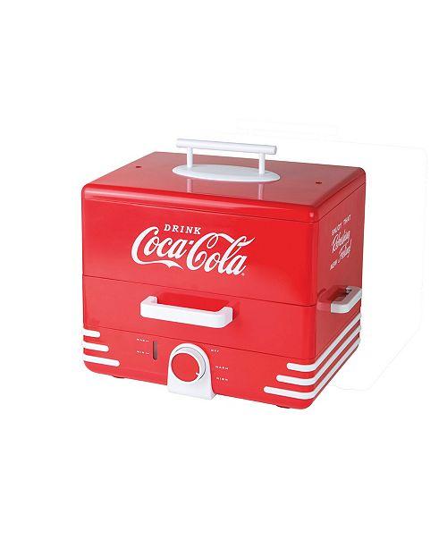 Nostalgia Large Coca-ColaHot Dog Steamer