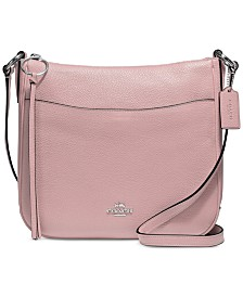 9b9f769827e5 COACH Chaise Crossbody in Polished Pebble Leather