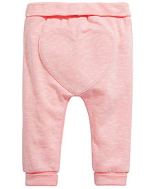 First Impressions Baby Girls Jogger Pants, Created for Macy's