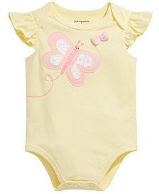 First Impressions Baby Girls Butterfly Bodysuit, Created for Macy's