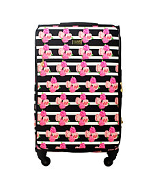 "Macbeth Collection Petunia 29"" Softside Spinner Suitcase"