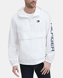 Men's Hooded Half-Zip Jacket
