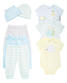 First Impressions Baby Boys Hats, Bodysuits & Jogger Pants, Created for Macy's