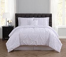 Truly Soft Arrow Pleated Twin Bed in a Bag