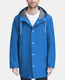 Tommy Hilfiger Men's Mid-Length Rain Jacket, Created for Macy's