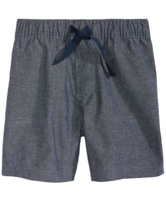 Baby Boys Cotton Chambray Shorts, Created for Macy's