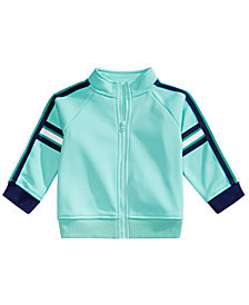 First Impressions Baby Boys Striped Track Jacket, Created for Macy's