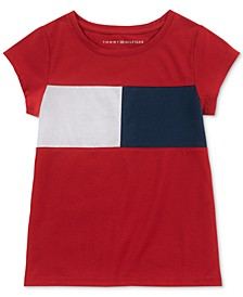 Toddler Girls Logo Flag T-Shirt