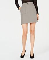 f29198aa7 I.N.C. Petite Faux-Suede Mini Skirt, Created for Macy's