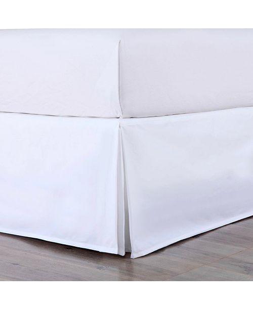 Epoch Hometex inc Cottonloft Colors Cotton Bed Skirt, Full
