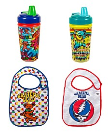 2-Pack Grateful Dead Toddler Feeder Set by Daphyl's