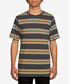 Volcom Men's Idle Crew Striped T-Shirt
