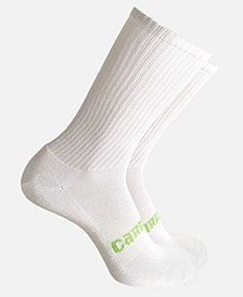 Men's Anti-Odor Cushion Crew Socks Viscose from Bamboo