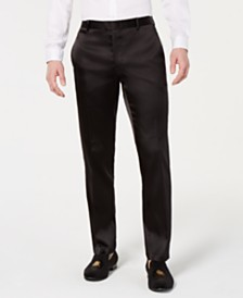 I.N.C. Men's Big & Tall Slim-Fit Tuxedo Pants, Created for Macy's