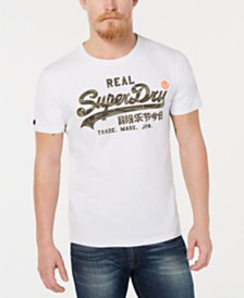 Superdry Men's Camo Logo Print T-Shirt