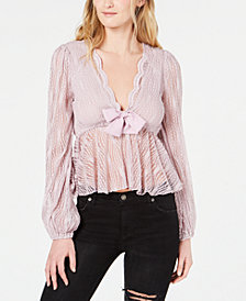 Free People Luisa Lace Top