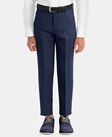 Lauren Ralph Lauren Big Boys Straight-Leg Linen Pants