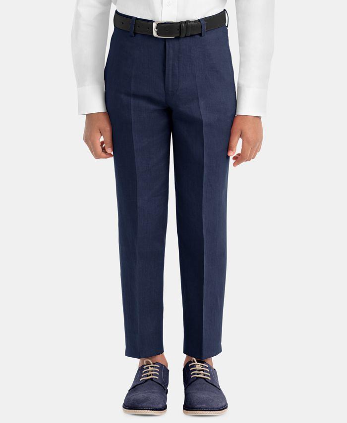 Lauren Ralph Lauren - Big Boys Straight-Leg Linen Pants