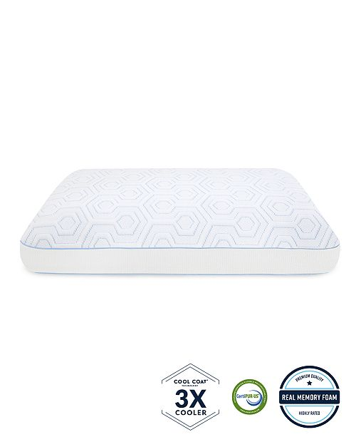 be1be3259eca ... SensorGel Arctic Gusset Gel-Infused Memory Foam Pillow with Cool Coat  Technology Collection ...