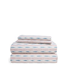 Lucie Ikat Stripe Sheets Collection