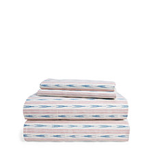 Lauren Ralph Lauren Lucie Ikat Stripe Full/Queen Sheet Set