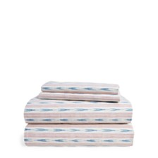 Lauren Ralph Lauren Lucie Ikat Stripe California King Sheet Set