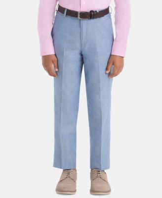 Big Boys Cotton Dress Pants