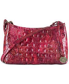 Brahmin Anytime Mini Melbourne Embossed Leather Shoulder Bag