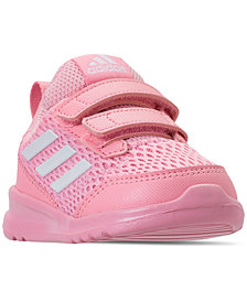 adidas Toddler Girls' AltaRun CF Athletic Sneakers from Finish Line
